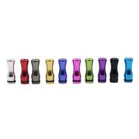 Wholesale Colorful Aluminium Material Drip Tip for DCT Vivi Nova Cartomizers E Cigarette