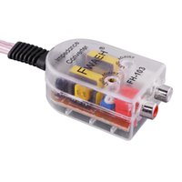 amplifier impedance - Hot Adjustable Level Speaker High to Low Impedance Converter Amplifier Adapter Channel RCA Line Out