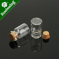 glass bottle with cork - 22mm tiny glass bottle wishing bottles different heights empty glass bottle with cork vials sold pkg