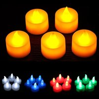 Wholesale Christmas Decoration Wedding Birthday Party LED Tea light bulk Flickering Flameless Tea Candles Light christmas toy