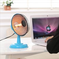 Wholesale electric heaters W Winter Warm Portable Mini Desktop Electric Hand Feet Heater Warmer