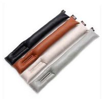 Wholesale 100pcs EMS Big discount Universal PU leather Drop Stop Seat Stopper Car seat Leak Proof pad Auto Cleaner Clean Slot Plug Y184