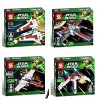 Wholesale High quality box set star wars Toy block SY piece together blocks baby boy s toys clone man doll blocks letgo