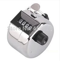 Wholesale T The Hand held Tally counter regist with metal bottom register Four digit display order lt no track