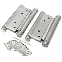 Wholesale A Pair inch Double Action Spring Hinge Swing Saloon Cafe Western Door