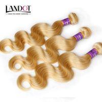 Cheap blonde peruvian body wave hair Best peruvian hair bundles