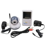 Wholesale 2015 new GHZ quot TFT Wireless Digital Baby Monitor IR Video Talk one Camera Night Vision video audio Baby Monitor for home