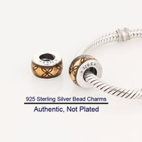 european beads free shipping - Beads DIY fits for European style pandora bracelets sterling silver lucky charms Fashion Jewelry L190B