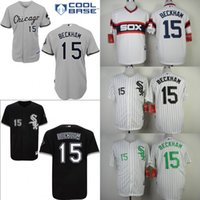 beckham white sox - 2015 New Stitched Jersey Chicago white Sox Baseball Jerseys Gordon Beckham Jersey White Black Gray S XL Accept Mixed Orders