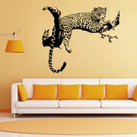 Wholesale Vinyl tigers wall decal fashion styles of wall stickers tiger wall art home decoration best quality