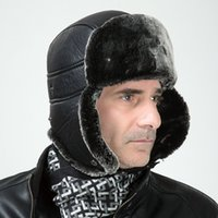 Wholesale The new foreign trade Lei Feng hat male hat thicker winter outdoor ski hat winter fur hat adult men