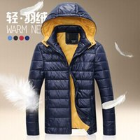 Cheap men hooded down Best puffer jacket
