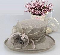 church hats fashion - Fashion Ladies Colorful Organza roses hat Kentucky Derby Wedding Church Party Floral sun summer Hat