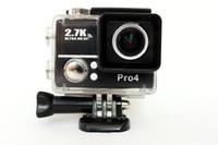 achat en gros de hd aller-Gopro Hero 4 Type Sport Go Pro Style Caméra Haut 4K Full HD 1080P Avec WIFI G560 Contrôle Téléphone Tablette PC 30 mètres Appareils photo étanches