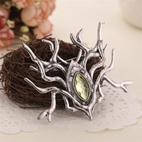 ancient spiders - Lord of ring Hobbit Thranduil Spider brooch pins ancient silver hobbit jewelry for women men statement jewelry BY DHL