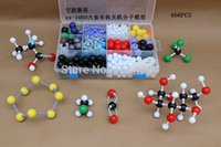 Wholesale ZX Large set Color PP PE organic molecular structure model for chemistry teaching atoms bonds