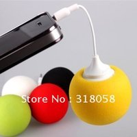 Wholesale Audio dock balloon mini speaker for mobile phone sound horn built in lithium