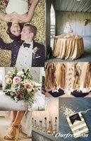 big dinner table - Many Ways Use Sequined Fabrice For Big Day Runway Occasion Cheap Elegant Fashion Table Cloth For Wedding Events Dinner Use Fabric