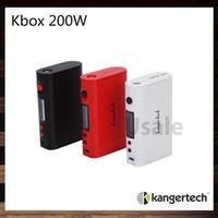Wholesale Kanger KBox W TC Box Mod Kangertech KBOX Ecigarette Mods VV VW Temp Control Mode Ni Ti SS NiCr Original