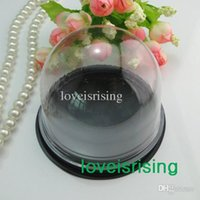 Wholesale New Arrivals sets Clear Plastic Cake Dome Cake Box Favor Boxes Container Wedding Party Decor Gift Boxes