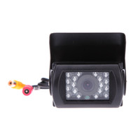 Wholesale 18 IR Night Vision Reversing Camera LCD Monitor Car Rear View Camera Kit for Bus Long Truck order lt no track