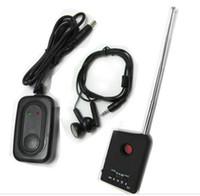 Wholesale New Anti Spy Camera GSM Bug RF Tracker Finder Detector hidden camera detector GPS tracker
