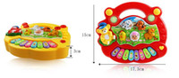 Wholesale Baby Kids Musical Educational Animal Farm Piano Developmental Music Toy Gift for kids New