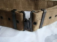 Wholesale British S belt British belt armed with metal fasteners