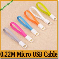 Wholesale 0 M For S5 Note Micro USB Cable Note4 Cable Micro USB Sync Data Cable Charging Charger Cable adapter For Samsung Galaxy S5