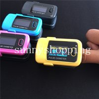 Wholesale Hot sale Home care Fingertip pulse oximeter CE FDA OLED Fingertip Pulse Oxymeter Mini SPO2 monitor