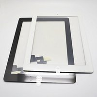 Wholesale Test Well High Quality for iPad nd Generation Digitizer Touch Screen with Home button Adhesive Glue assembly White Black Color