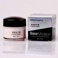 amazing cosmetics concealer - Brand New Makeup Primer Lasting oil Control Cover Pore Wrinkle Face Concealer Cosmetic Foundation Base Amazing Effect ml