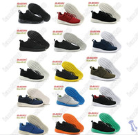 Wholesale HOT Sales Cheap NEW Women and Men s Roshe Run colors Running Shoes Casual shoes size