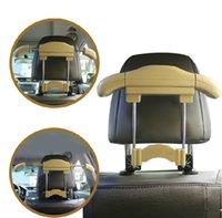 Wholesale Hot Convenient Car Auto Seat Headrest Clothes Coat Suit Pattern Metal Driver Passenger Vehicle Hanger