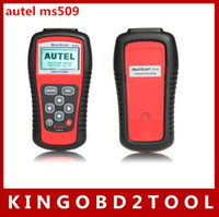 Wholesale 2016 New arrival original autel MaxiScan MS509 OBDII EOBD Auto Code Reader MS OBD scanner with factory price hot sales