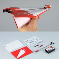 Wholesale Essential Power Up Electric Paper Plane Airplane Conversion kit Fashion Educational Toys Great Gift