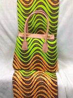 cotton fabric uk - New aliexpress uk African Women Wax Bag Handbag With African Wax Cotton Fabric For Dress