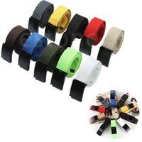 Wholesale L109Fashion Unisex Plain Webbing Waist Belt Waistband Casual Canvas Belt