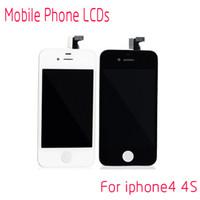 Wholesale 1pcs for iPhone S LCD Digitizer Repair Parts Mobile Phone LCDs