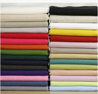 bamboo fabric - 2015 Bamboo solid color Cotton Linen fabric for sewing patchwork sofa background upholstery DIY clothing tablecloths cm
