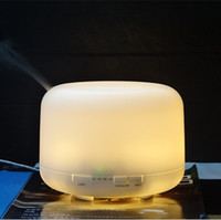 Wholesale 15pcs Home Cleaning Ultrasonic Air Humidifier Aroma Diffuser Fragrance Sprayer Office Purifier Mist Maker with Colorful LED Light W0087