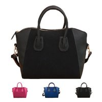 Wholesale S5Q PU Leather Women Retro Elegant Handbag Shoulder Satchel Frosted Fashion Bags AAAFFS