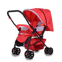 baby trolley brands - Baby strollers brands kinderwagen stroller High Landscape Light folding umbrella car strollers Car By Portable Folding Trolley