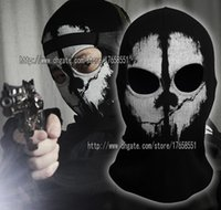 call of duty ghost - New High Quality Ghost Ski Full Face Mask For Call of duty Ghosts Protagonist mask