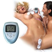 venda por atacado electric massage vibrator-Full Body Massager modos de massagem completa Slimming Body Muscle Massager pulso elétrico Relax 4 NoBAMD vibração Sex Toys Vibrador Feminino Massagem