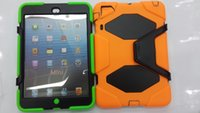 Wholesale Robot Military Shockproof Design PC TPU Combo Case Protector Case for ipad mini Stand ipad Tablet PC cover