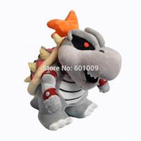 mario land - Super Mario D Land Skeletal Dry Bowser Bones Plush Soft Toy Doll Teddy quot NWT