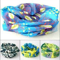 Wholesale Outdoor sports equipment factory direct Variety scarf riding high elastic seamless magic scarf sunscreen