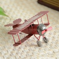 Wholesale 2015 New Vintage Toys Airplane Model Metal Iron Handcraft Plane Aircraft Home Wedding Decoration Car Styling Handicraft