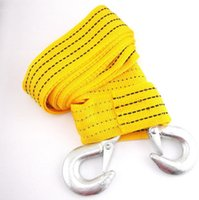 Wholesale Front Rear Hook Heavy Duty High Strength Racing Tow Strap Towing Rope Universal Good Quality Brand New